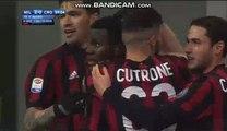 Franck Kessie Goal HD - AC Milan 2-0 Crotone 06.01.2018