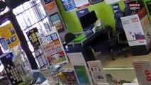 Texas : Une vendeuse enferme un braqueur dans son magasin (vidéo)
