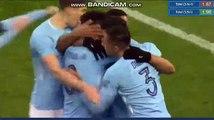 Sergio Aguero Goal - Manchester City 1-1 Burnley 06.01.2018