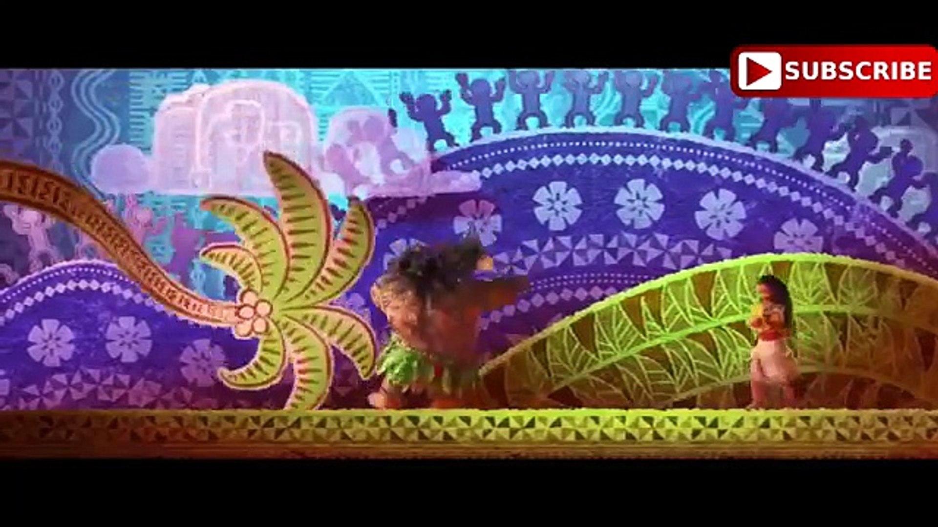 Disney's MOANA Movie - Best Moana Exclusive Movie Scenes - Dwayne Johnson Disney Animated Movie