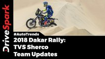 TVS Dakar Rally Team Results - DriveSpark