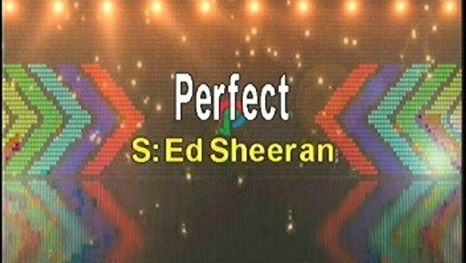 Ed Sheeran Perfect Karaoke Version - video dailymotion