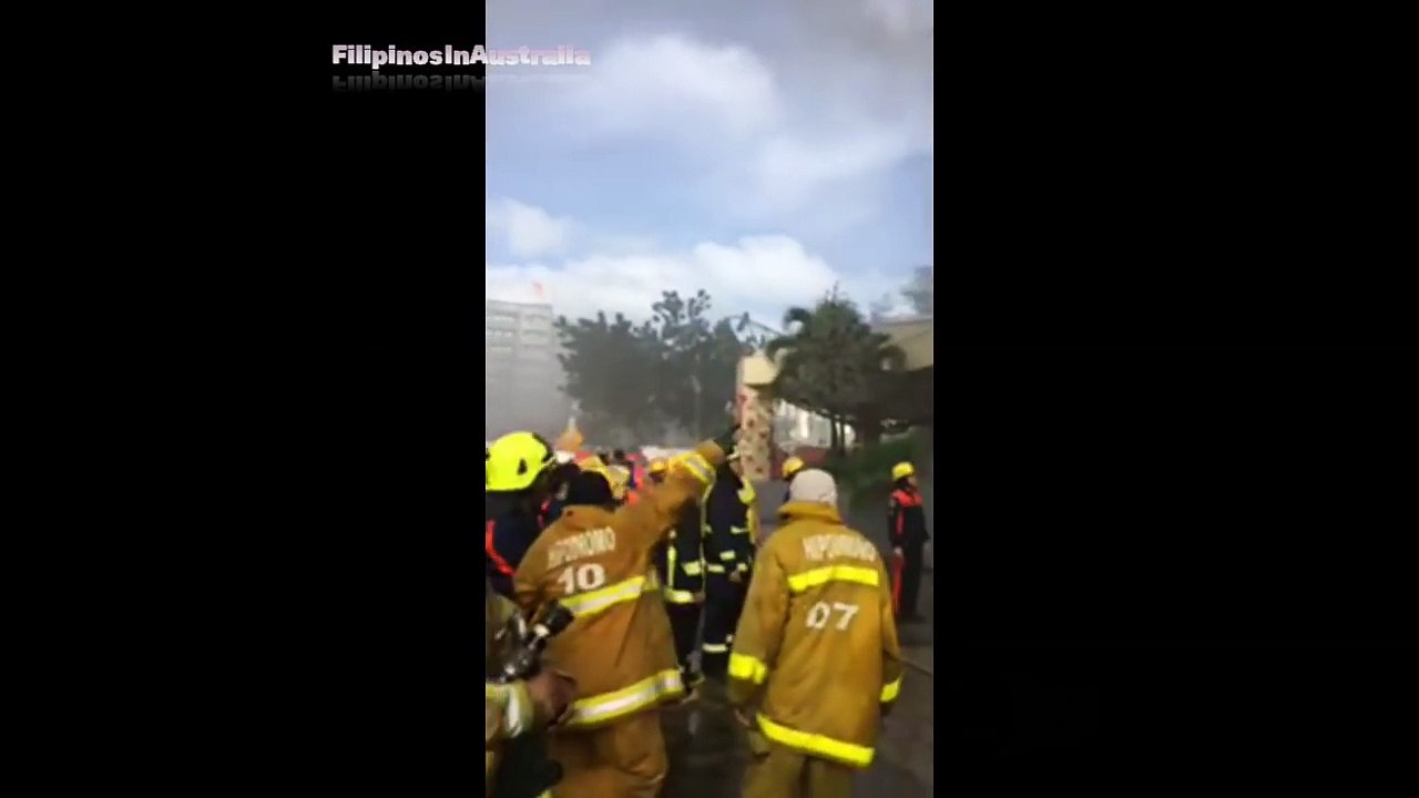 Update on Ayala Mall Fire, Cebu City, 6th Jan 2018