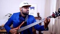 Improvisation quintolet en Slap à la guitare basse - Cours de basse   Johann Berby [BassistePro.com]