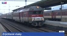 Zrýchlené vlaky REX Prešov - Košice