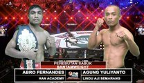 One Pride MMA Bantamweight, Abro Fernandes VS Agung Yulianto