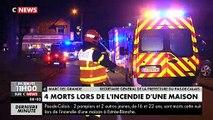 Drame cette nuit dans le Pas-de-Calais: Deux pompiers et deux enfants sont morts dans l'incendie d'une maison à côté de