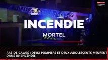 Pas-de-Calais : Deux pompiers et deux adolescents meurent dans un incendie (vidéo)