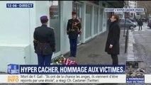 Emmanuel Macron rend hommage aux victimes de l'Hyper Cacher, trois ans après l'attentat