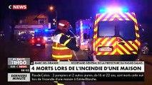 En Direct - Drame cette nuit dans le Pas-de-Calais : Deux pompiers et deux enfants sont morts dans l'incendie d'une mais