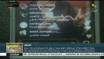 Irán denuncia uso de redes sociales para generar violencia social