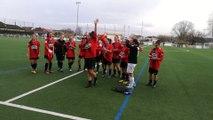 Les footballeuses de l'ASMUR célèbrent leur parcours en Coupe de France