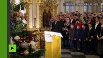 [Actualité] Vladimir Poutine célèbre le Noël orthodoxe à Saint Petersbourg