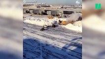 Le tempête de neige aux États-Unis paralyse l'aéroport JFK à New-York et laisse des milliers de personnes sans avion