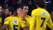 0-3 Ángel Di María Goal France  Coupe de France  Round 9 - 07.01.2018 Stade Rennais 0-3 Paris St...
