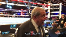 "BOB ARUM ""ANTHONY JOSHUA'S CHIN IS SUSPECT! PARKER, WILDER CAN KNOCK HIM OUT!"""