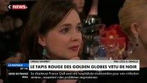 """Golden Globes : Oprah Winfrey a annoncé cette nuit l'arrivée d'une """"aube nouvelle"""" pour les femmes et jeunes filles malt"""