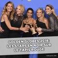 Golden Globes 2018: Les stars en noir sur le tapis rouge