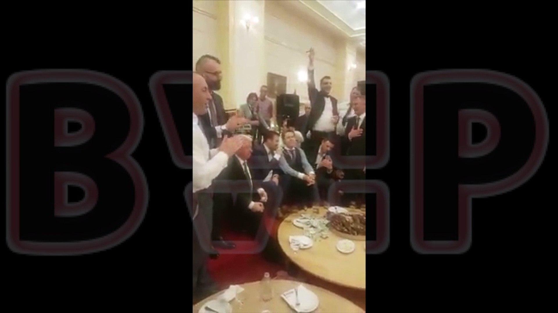 Ramush Haradinaj në një fejes në Rahovec në vend të SHBA-ve