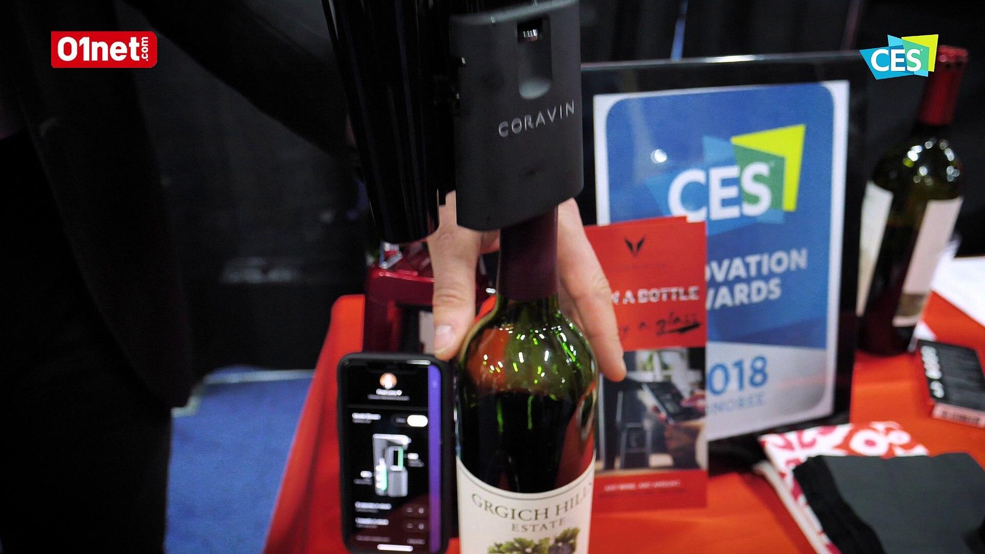 Coravin Eleven Un Extracteur De Vin Bluetooth Qui Sert Un Verre Sans Ouvrir La Bouteille