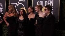 Le tapis rouge des Golden Globes tout vêtu de noir