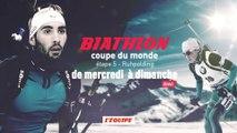 BIATHLON - Coupe du Monde : Ruhpolding, bande annonce