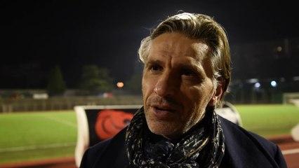 """R. Brouard : """"On va se satisfaire de ce point du match nul, on a frisé la correctionnelle sur la fin"""" 08/01"""