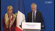 """Le Maire : """"J'ai demandé 2.500 contrôles supplémentaires suite à l'affaire Lactalis"""""""