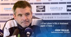 Jérémy Toulalan évoque le déplacement à Troyes