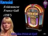 Karaoké France Gall Evidemment