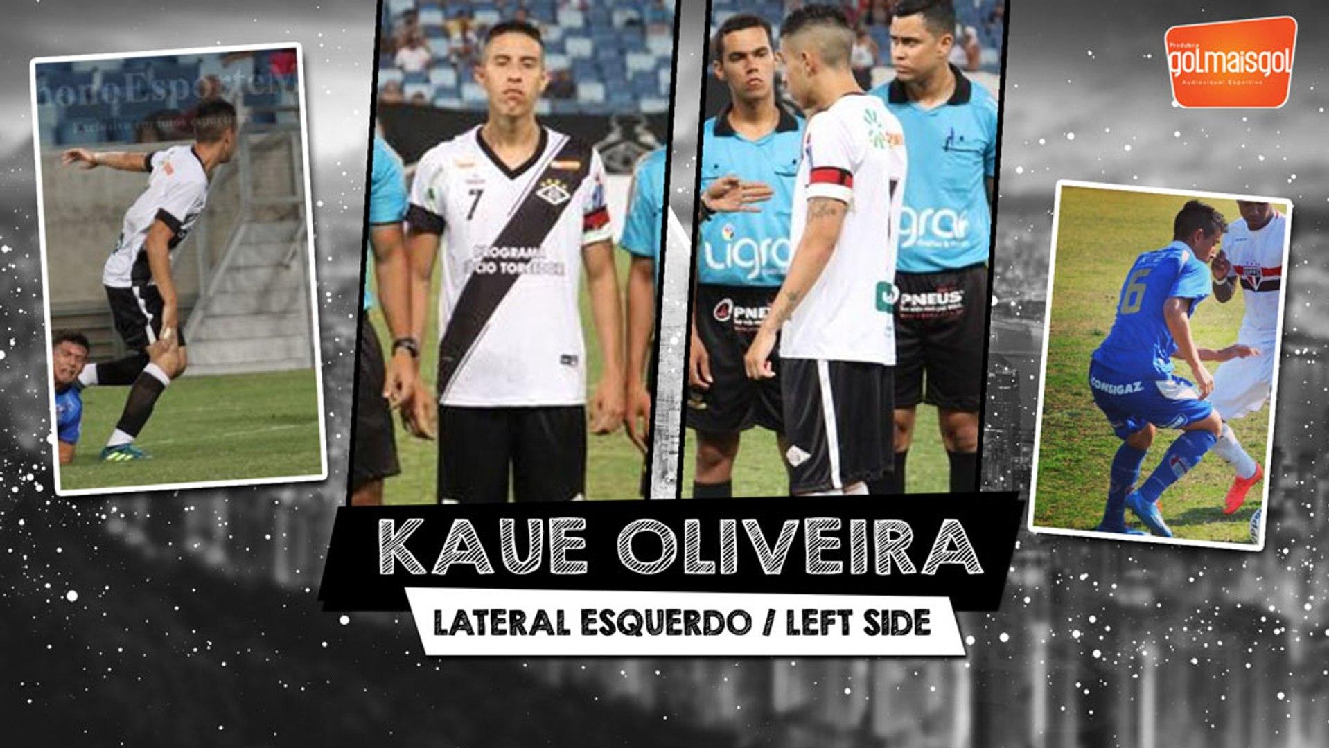 KAUE OLIVEIRA - Kaue Gustavo Pereira de Oliveira - Lateral Esquerdo - www.golmaisgol.com.br