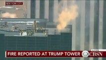 En direct - Incendie en cours à la Trump Tower de New York - Deux blessés dont un grave - De la fumée s'échappe du toit