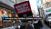 Golden Globes : les moments les plus choquants