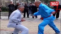 Njihuni me mjeshtrin e Kung Fu-së I cili ju mëson si të formoni këllqe prej çeliku (360video)