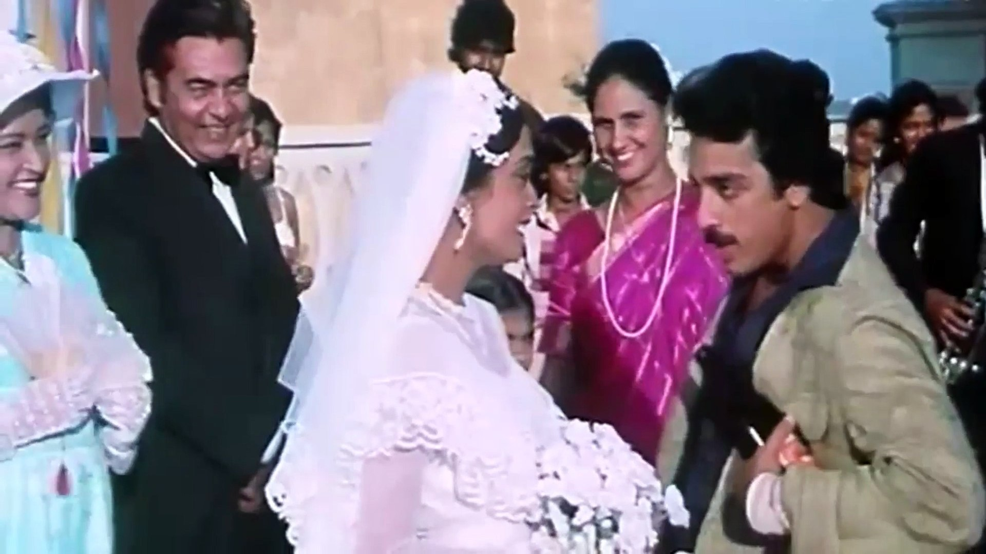 O Maria [HD] - Saagar (1985) | Kamal Haasan | Rishi Kapoor | Nadira |  Dimple Kapadia