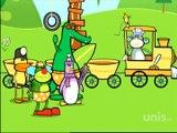 Bruno et les Bananamis E05 - Bruno, conducteur de locomotive