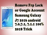 how to Remove FRP lock Google account on Samsung mobiles _ J7 17 7.0_ remove frp