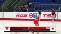 NOVICE WOMEN SHORT : 2018 Canadian Tire National Skating Championships (2)