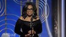 Oprah Winfrey For President? Golden Globes Speech Fuels Speculation Over Possible Run | THR News