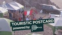 Touristic postcard - Étape 3 / Stage 3 (Pisco / San Juan de Marcona) - Dakar 2018