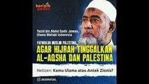 Balada Tikus Sawah (Salafi Wahabi) - Ketika Misionaris Wahabi Berbicara Tentang Palestina