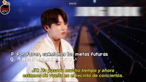 [Sub Español] BTS BEHIND THE SCENES   INTERVIEW Japanese Wings Tour