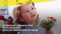 La Princesse Charlotte était trop mignonne pour son premier jour de crèche