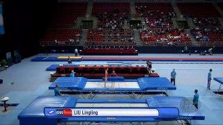 LIU Lingling (CHN) - 2017 Trampoline Worlds, Sofia (BUL) - Qualification Trampoline Rou