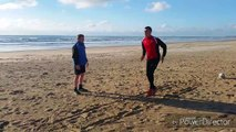 Mouscron: Selim Amallah grimpe les dunes à Cadix