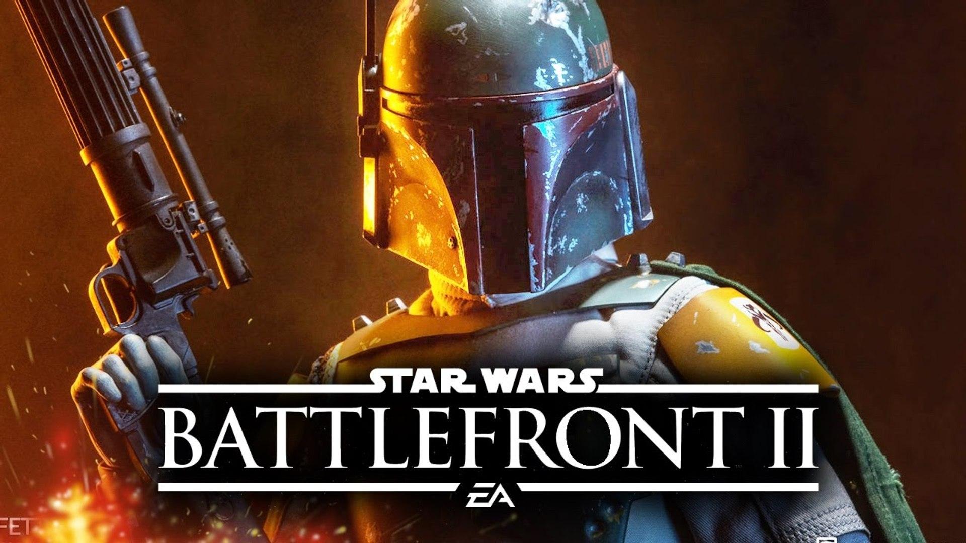 Star Wars Battlefront 2 Funny Boba Fett Glitch On Star Killer Base 2018 Video Dailymotion