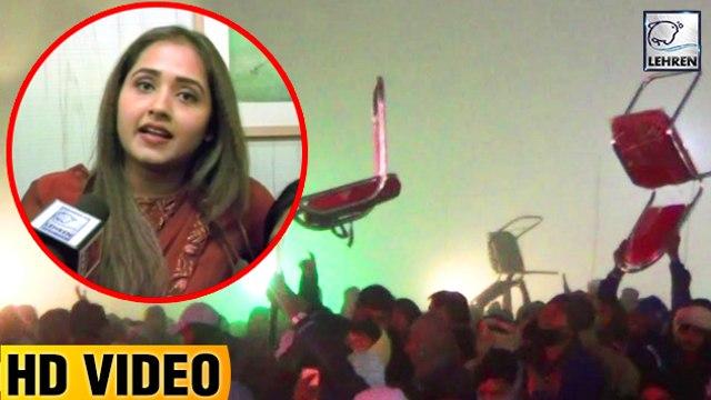 खेसारी और काजल की वजह से समस्तीपुर में लोगो ने जलाये पंडाल | Khesari Lal Yadav