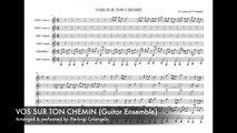 """Pierluigi Colangelo - Vois sur ton chemin - from """"Les Choristes"""" (Guitar Ensemble)"""