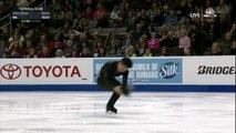Le patineur Jimmy Ma fait un choix de musique étonnant et surprend tout le monde !