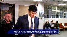 Former Fraternity Members Sentenced in Pledge's Hazing Death